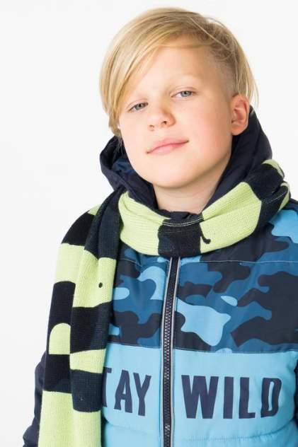 Шарф детский Gulliver, цв. зеленый р-р onesize
