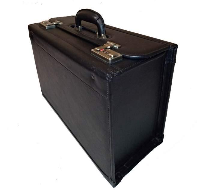 Кейс Пилот кожаный Amerileather 1853-01 черный