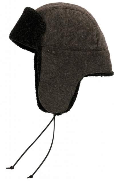 Шапка ушанка мужская Finn Flare W19-21402 темно-серая