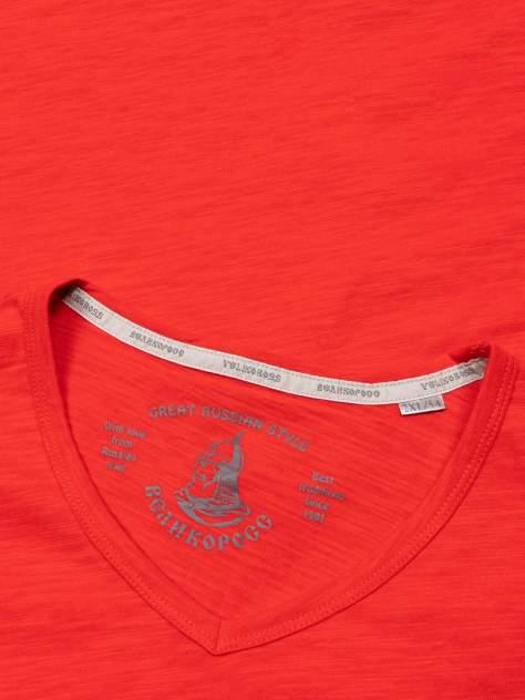 Лонгслив мужской Великоросс L-466 красный 58