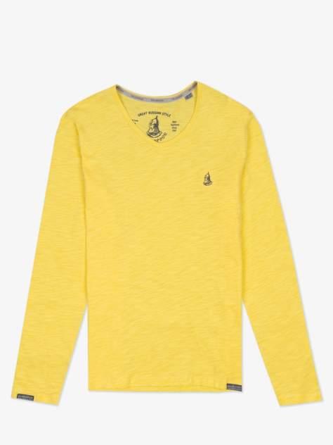 Лонгслив мужской Великоросс L4610 желтый 58