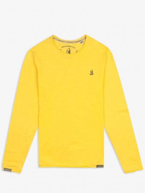Лонгслив мужской Великоросс L4510 желтый 58