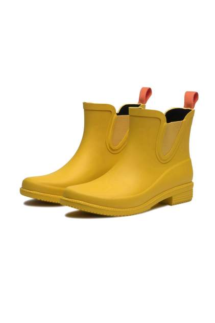 Резиновые сапоги женские SWIMS DORA BOOT желтые 6 US