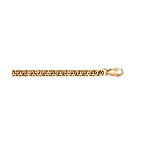 Бисмарк ручной вязки SOKOLOV из золоченого серебра 985140704 17
