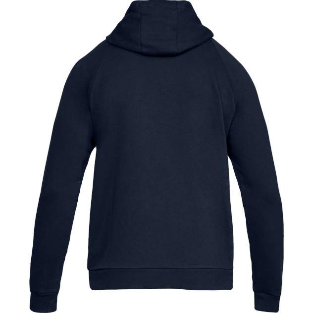 Толстовка Under Armour Rival Fleece Full Zip Hooded, 408 синий, XXL INT