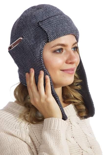 Шапка-ушанка с карманом для телефона iUshanka A36348 антрацит