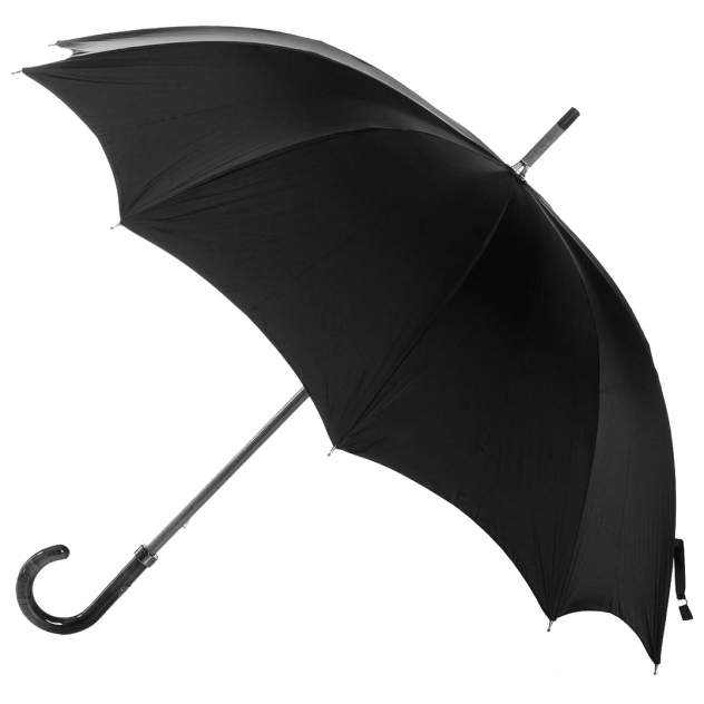 Зонт-трость мужской механический Rainbow RB1659 черный