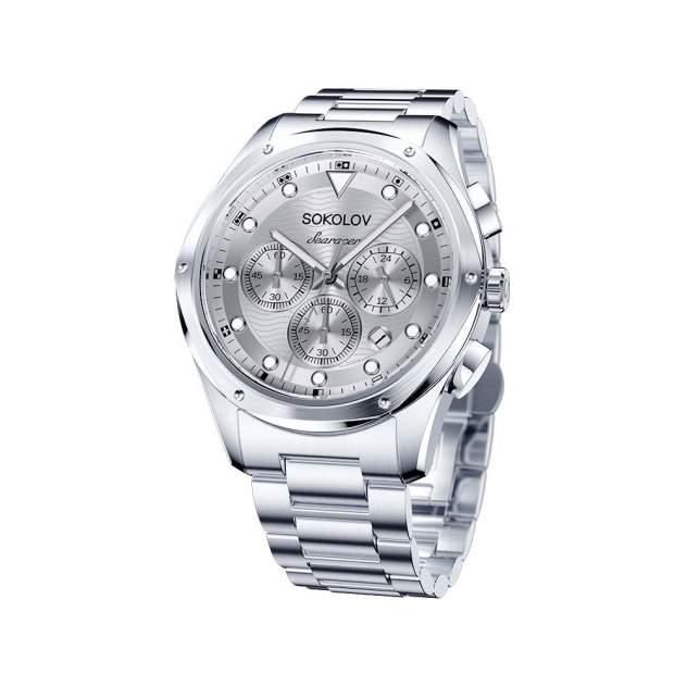 Мужские стальные часы SOKOLOV 320.71.00.000.01.01.3