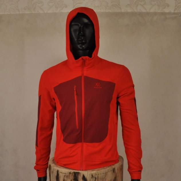 Толстовка Kailas M1-Polartec Stretchy Windproof Jacket, cherry, M INT