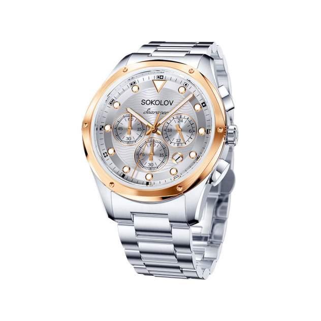 Мужские стальные часы SOKOLOV 320.76.00.000.04.01.3