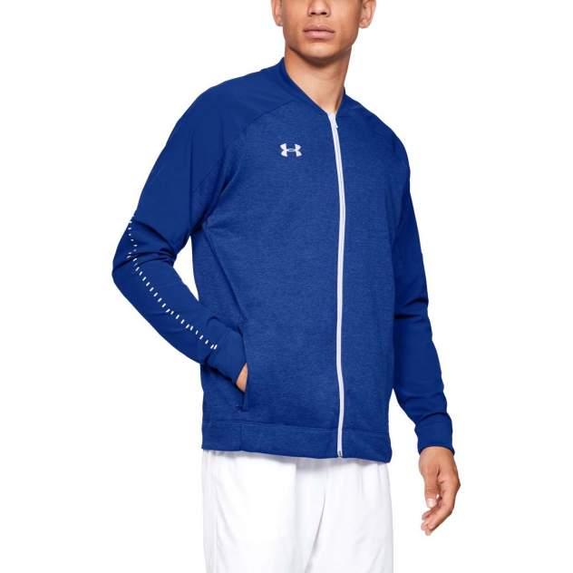 Толстовка Under Armour Knit Warm Up Full Zip, 400 синяя, MD
