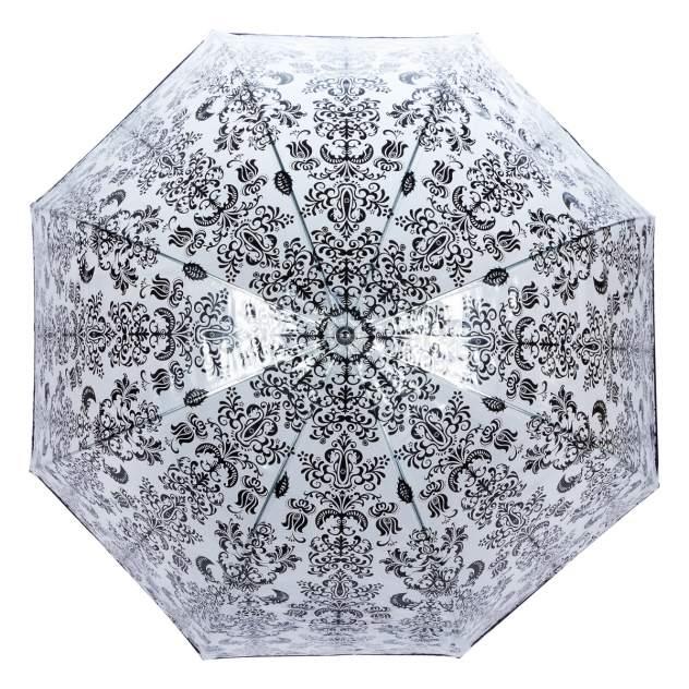 Зонт-трость женский механический Guy De Jean 1008-LM прозрачный/черный