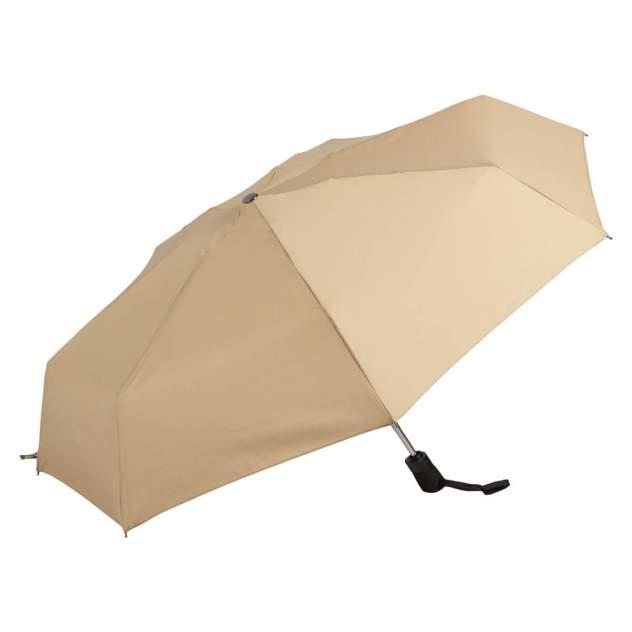 Зонт складной женский автоматический Guy De Jean 2004-OC бежевый
