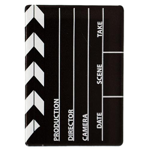 Обложка для проездного Kawaii Factory KW065 Кинохлопушка черная
