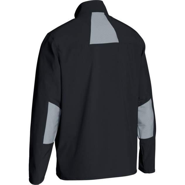 Куртка Under Armour Charger Warm Up Woven Full Zip, 001 черная, LG