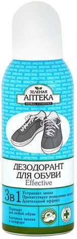 "Дезодорант для обуви ""Effective"" Зеленая аптека, 150 мл"