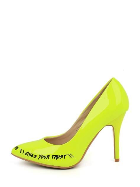 Туфли женские TF 205751-7 желтые 38 RU