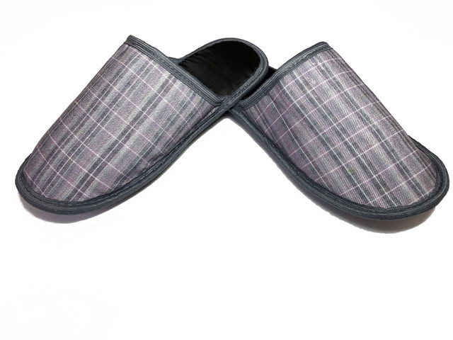 Мужские домашние тапочки Jollyjoy 165, серый