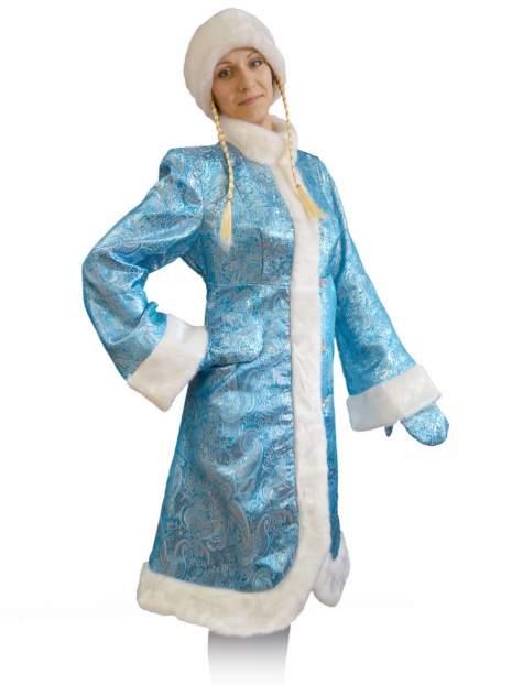Карнавальный костюм Карнавалофф -  Новый год для взрослых. Снегурочка M (46-48/165)