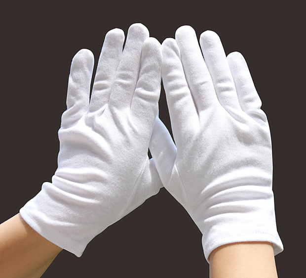 Перчатки косметические Metex 978/62030 белые р.7