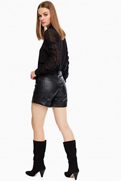 Шорты женские Karl Lagerfeld 205W1000_999 черные 44 FR