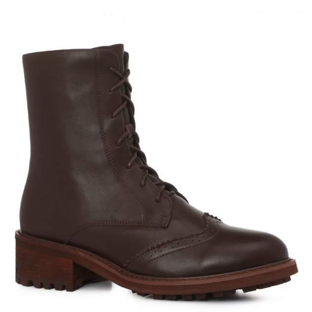 Ботинки женские Abricot C316-1_К, коричневый