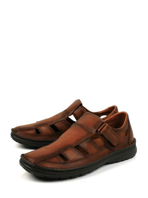 Сандалии мужские Longfield RSL 20-27 коричневые 42 RU