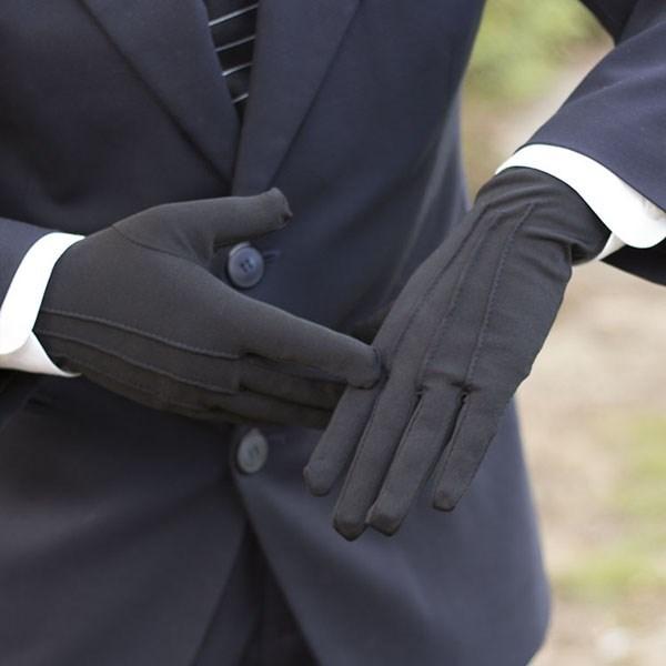 перчатки мужские MEtex Перчатки парадные черные 11
