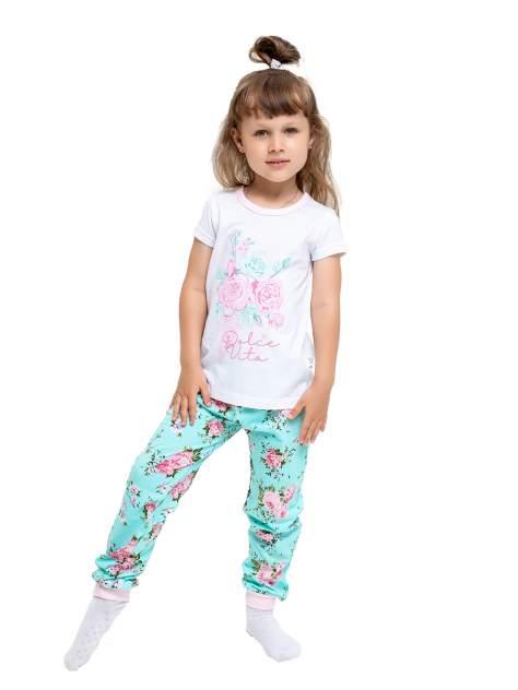 Пижама детская Веселый малыш, цв. разноцветный р.122