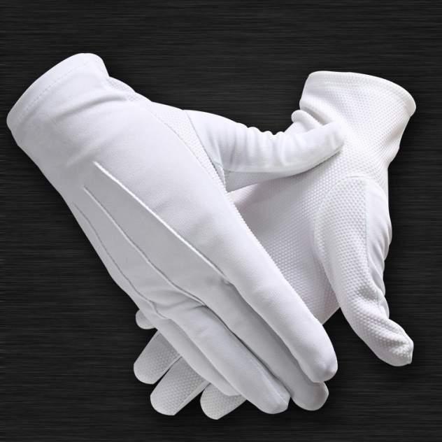 Перчатки мужские MEtex Перчатки с напылением белые 11