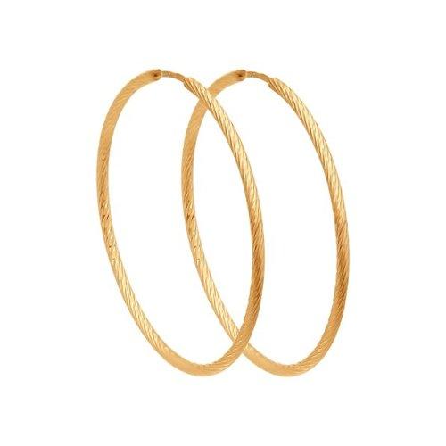 Серьги женские из золота SOKOLOV 140139, без вставки