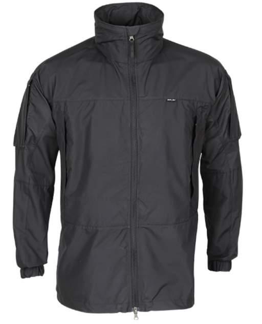 Куртка-ветровка тактическая Mantis черная 48-50/182-188