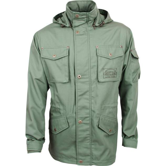 """Куртка """"Canvas"""" оливковая 44-46/176"""
