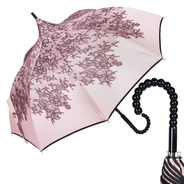 Зонт-трость женский механический Chantal Thomass 510-LM розовый