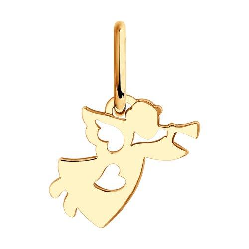 Подвеска «Ангелочек» SOKOLOV из золота 034923