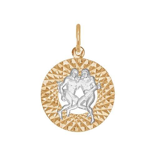 Подвеска «Знак зодиака Близнецы» SOKOLOV 031379