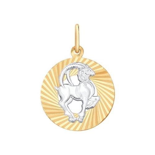 Подвеска «Знак зодиака Козерог» SOKOLOV 031374