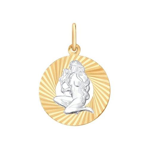 Подвеска «Знак зодиака Дева» SOKOLOV 031370