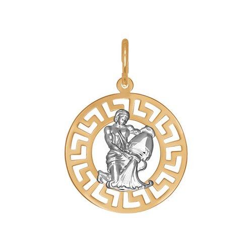 Подвеска «Знак зодиака Водолей» SOKOLOV из золота 031304