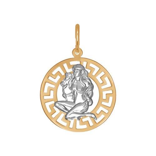 Подвеска «Знак зодиака Дева» SOKOLOV из золота 031299