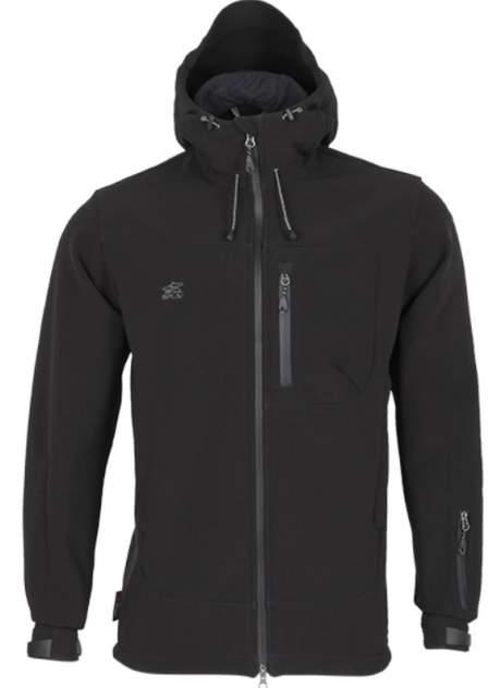 Куртка Action SoftShell черная 44/170-176