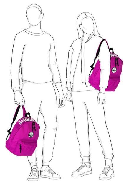 Рюкзак женский Napapijri NA4E9UV02 фиолетовый
