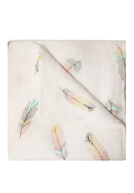 Пеленка Сонный гномик муслин перья