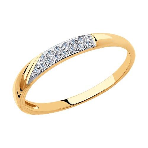 Кольцо женское SOKOLOV из золота 018395 р.17