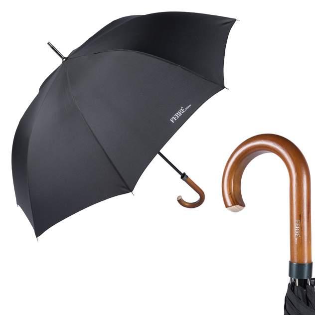 Зонт-трость унисекс полуавтоматический FERRE MILANO 123-LA черный