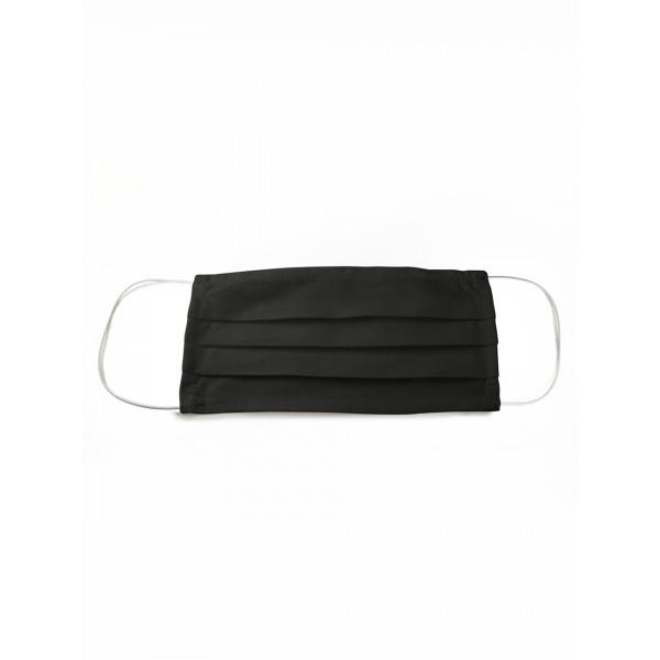 Многоразовая защитная маска MARENGO TEXTILE черная 1 шт.