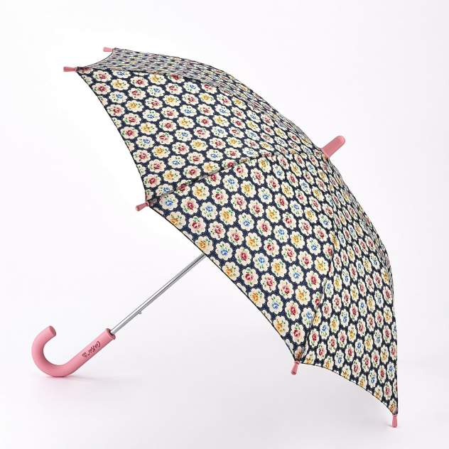 Зонт-трость женский механический Fulton C886-3982 ProvenceRoseJunior разноцветный
