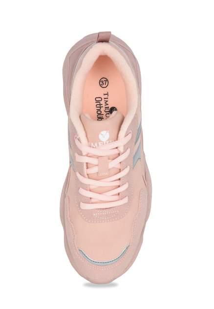 Кроссовки женские TimeJump K1825-10B розовые 41 RU
