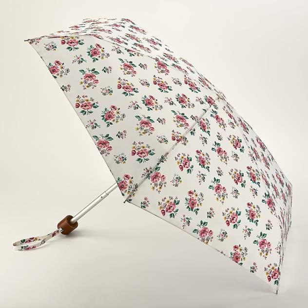 Зонт складной женский механический Fulton L521-3736 белый