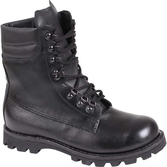 Ботинки Сплав Англия нат. мех, черные, 45 RU